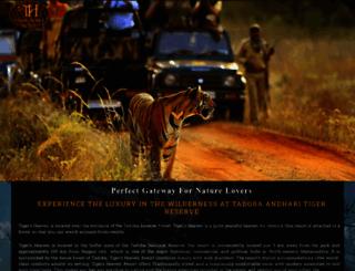 tigersheavenresort.co.in screenshot