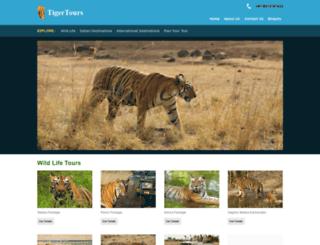 tigertoursonline.com screenshot