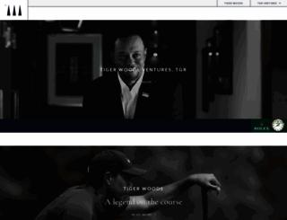 tigerwoods.com screenshot