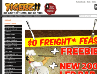 tigerz11.com.au screenshot