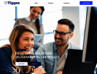tiggee.com screenshot