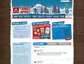 tignes-spirit.com screenshot