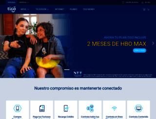 tigo.com.bo screenshot
