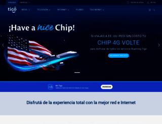 tigo.com.py screenshot
