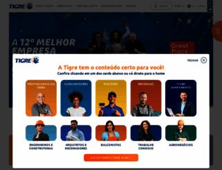 tigre.com.br screenshot