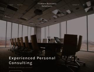 tiimble.com screenshot