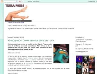 tijerapress.blogspot.com screenshot