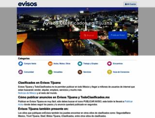 tijuana.evisos.com.mx screenshot