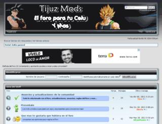 tijuzmods.forogratis.es screenshot