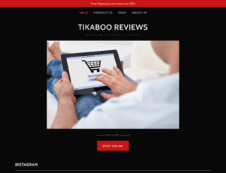 tikaboo.com screenshot