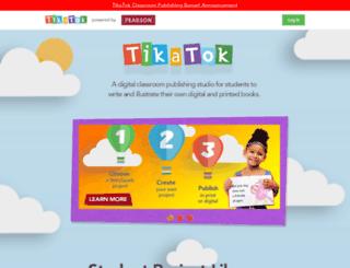 tikatok.com screenshot