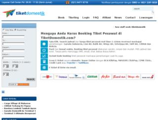 tiket.antavaya.com screenshot