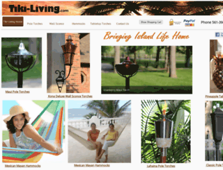 tiki-living.com screenshot