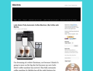 tikichris.wordpress.com screenshot
