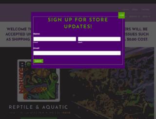 tikitikireptiles.com screenshot