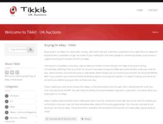 tikkit.co.uk screenshot