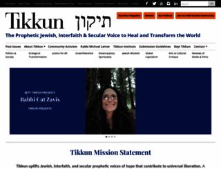 tikkun.org screenshot