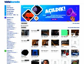 tiklaburada.com screenshot
