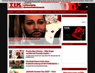 tikonline.de screenshot