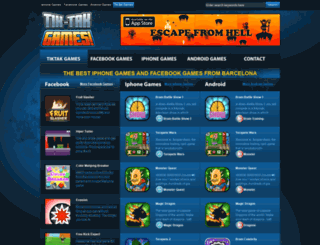 tiktakgames.com screenshot