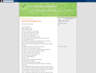 tikumazonga.blogspot.ca screenshot
