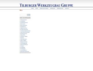 tilburger-werkzeugbaugruppe.com screenshot