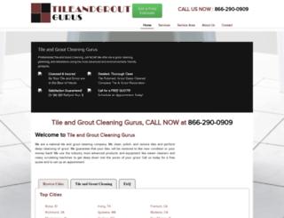 tileandgroutgurus.com screenshot