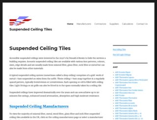tiledceilings.co.uk screenshot