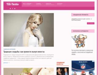 tili-testo.com screenshot