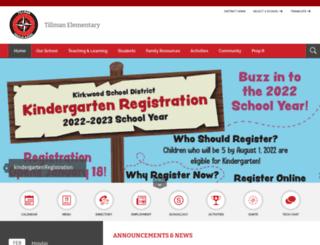 tillman.kirkwoodschools.org screenshot