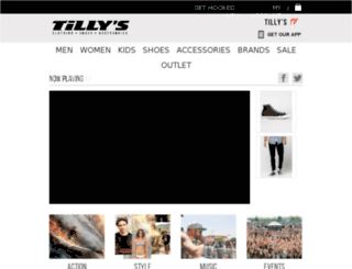 tillys.tv screenshot