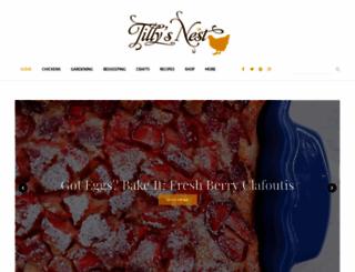 tillysnest.com screenshot