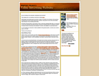 tilsonfunds.com screenshot