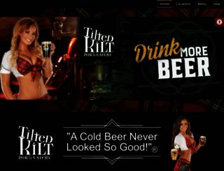 tiltedkilt.com screenshot