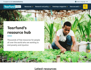 tilz.tearfund.org screenshot