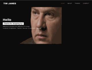 tim-james.com screenshot