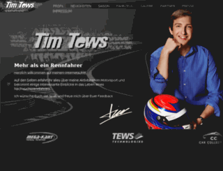 tim-tews.de screenshot