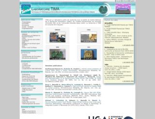 tima.imag.fr screenshot