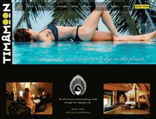 timamoonlodge.co.za screenshot