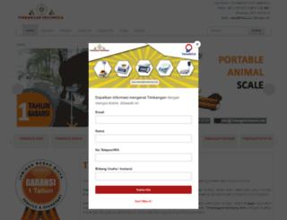 timbanganindonesia.com screenshot