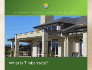 timbercrete.com.au screenshot