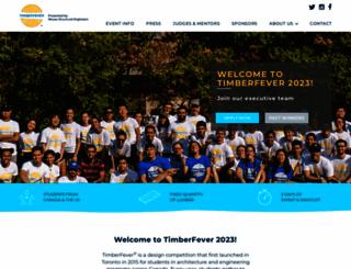 timberfever.com screenshot
