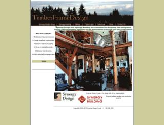 timberframedesign.com screenshot