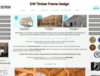 timberframedesign.net screenshot