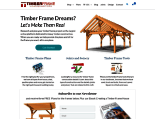 timberframehq.com screenshot