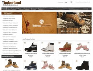 timberland-schoenen.eu screenshot