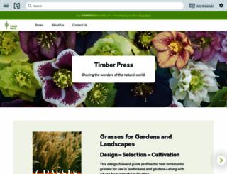 timberpress.com screenshot