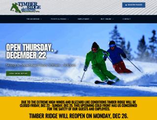timberridgeski.com screenshot