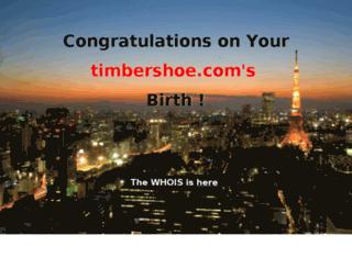 timbershoe.com screenshot
