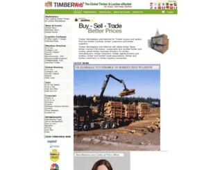 timberweb.com screenshot